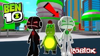 ECHO ECHO UPDATE IN ROBLOX!! (Ben 10 Arrival Of Aliens Update)