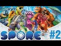 Allying The Punkies! | Spore episode 2