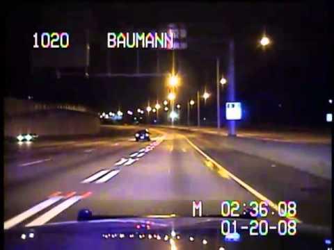 Atlanta Police Chase 1-20-08