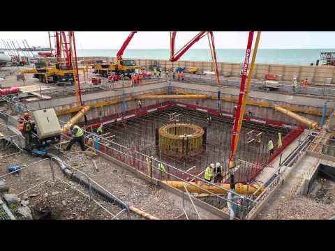 30thMay 2015 Concrete pour
