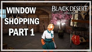 Black Desert Online - Window Shopping Episode 1 - Weapons & Pre Orders
