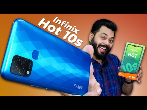 Infinix Hot 10S Unboxing And First Impressions ⚡ Helio G85, 90Hz Screen, 6000mAh & More