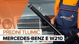 Jak vyměnit Tlumic perovani на MERCEDES-BENZ E-CLASS (W210) - online zdarma video