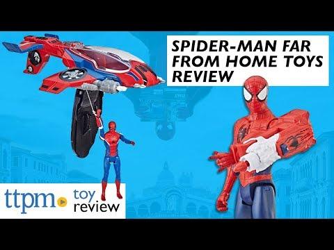 Marvel ultimate spiderman web warriors blast N go SPIDERMAN QUAD