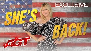 Heidi Klum Returns to AGT with Pure EXCITEMENT! - America's Got Talent 2020