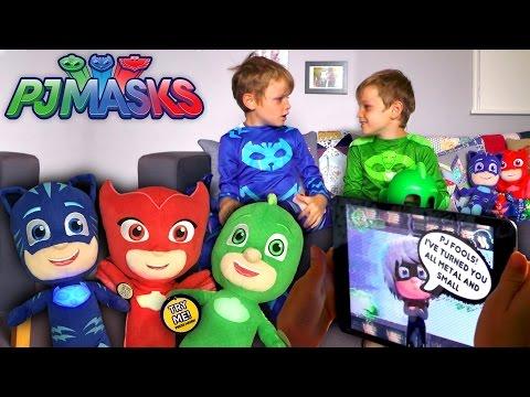 PJ Masks Toy Rescue Adventure - Luna Girls Hack Glitch Attack