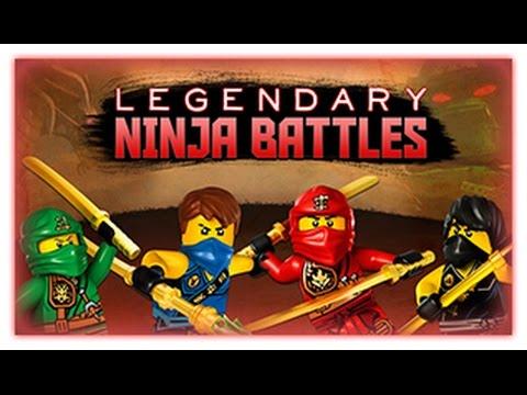 Ninjago  - Legendary Ninja Battles - Ninjago Games