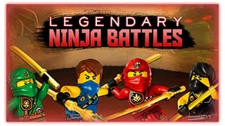 Ninjago Legendary Ninja Battles Ninjago Games Youtube