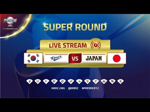 Premier12 Replay - Korea V Japan - WBSC 2019 Premier12 Super Round