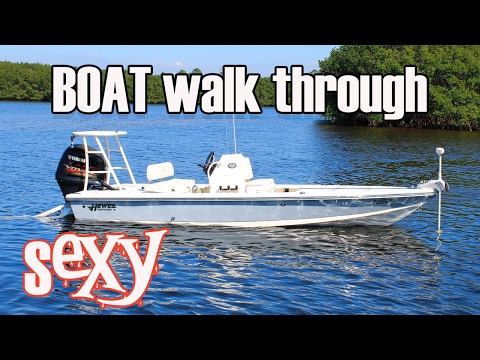 2016 Hewes Redfisher 18 - Boat Walkthrough