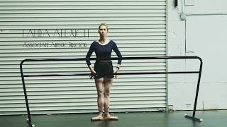 Laura on Pointe