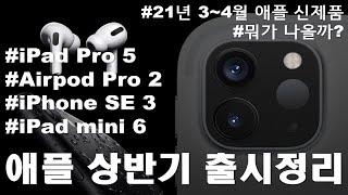2021년 상반기(3~4월) 애플 신제품 출시예상! i…