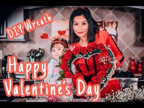 JWOWW and Meilani's DIY Valentine's Day Wreath