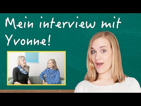 German Lesson (417) - Interview mit Yvonne the Online German Tutor - Hörverstehen - B2/C1
