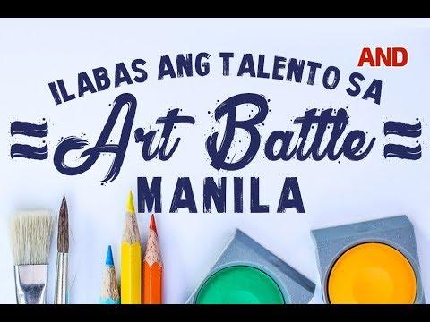 Ilabas ang talento sa Art Battle Manila