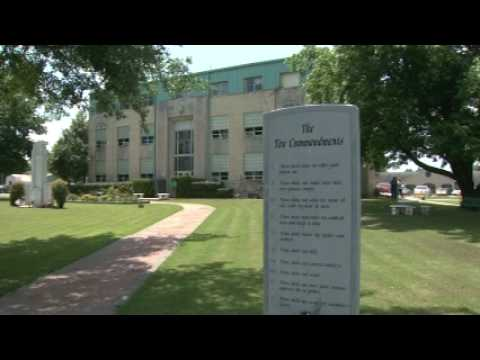 OETA Story on 10 Commandments ruling in Stigler, Oklahoma aired on 06/09/09