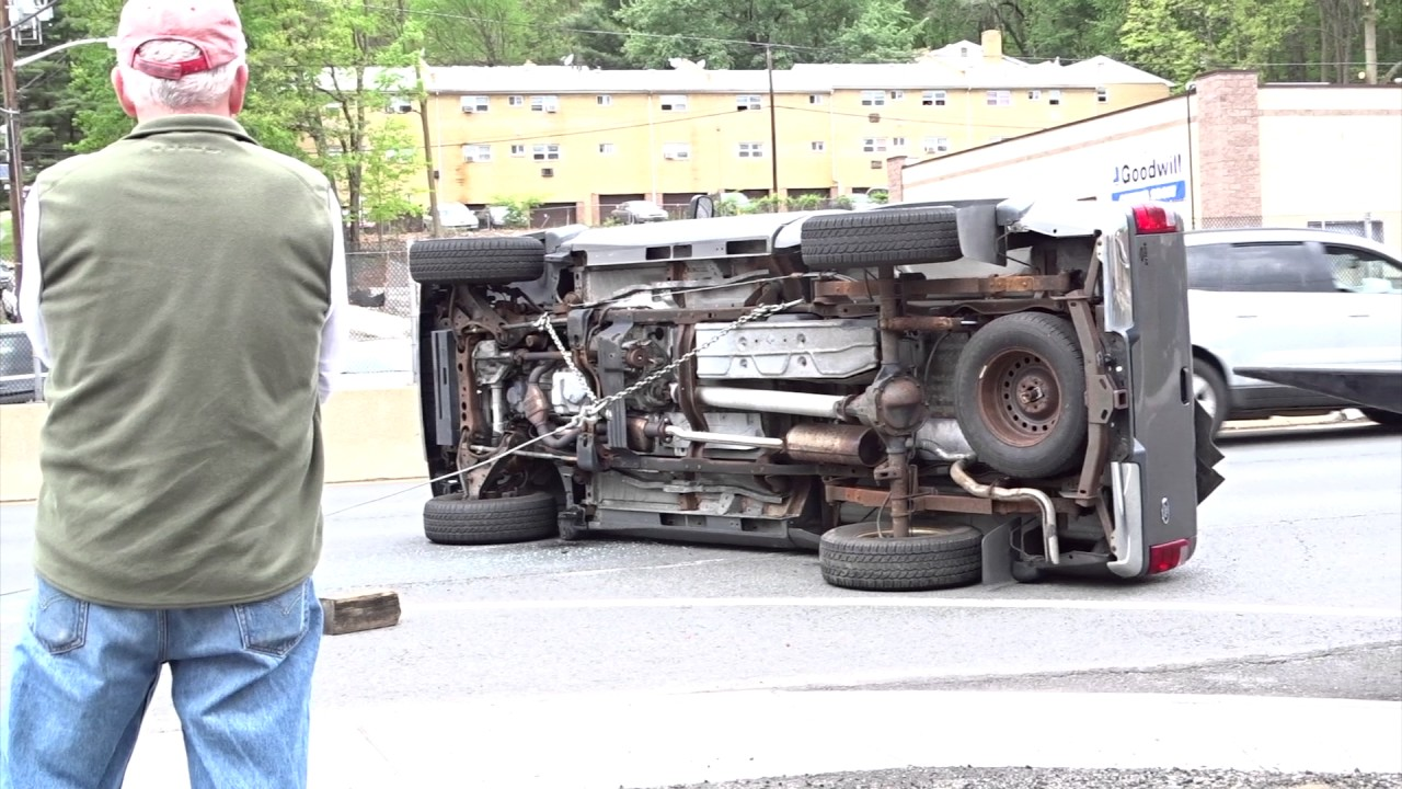 NORTH PLAINFIELD NEW JERSEY ROUTE 22 ACCIDENT 5/6/17 SOMERSET COUNTY