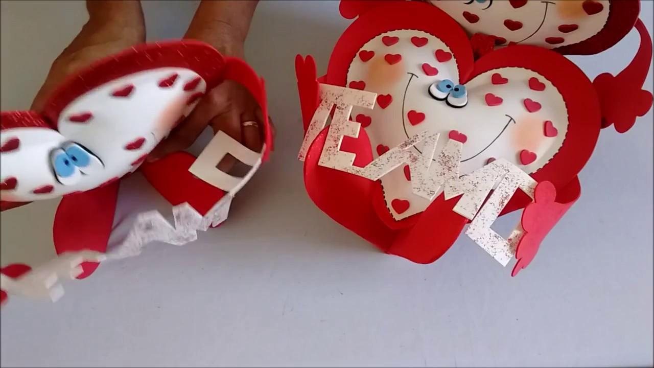 DIY: Lembrancinha Dia Dos Namorados Fofura De Coração