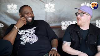 Run the Jewels talk about rtj 4, wu tang, and more with Mr. Peter Parker