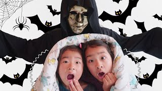 아엘튜브와 가면놀이해요 Irene and Ella Halloween the adventures in the Mystery House for Kids video