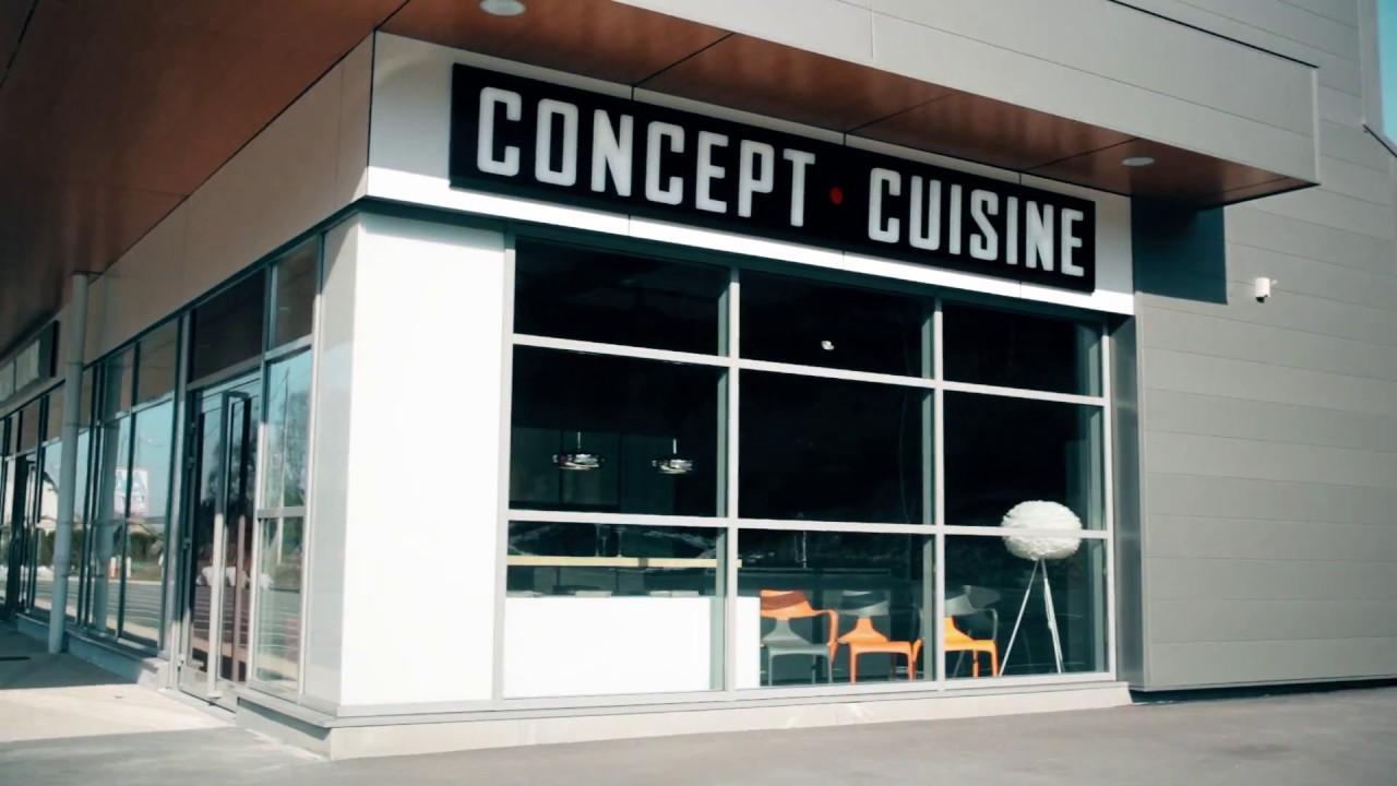 Concept cuisine show room de pontarlier youtube for Concept cuisine pontarlier