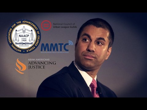 Civil Rights Groups Back FCC Chairman's Effort to Kill Net Neutrality