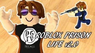 DECALL playing Roblox PRISON LIFE 2.0