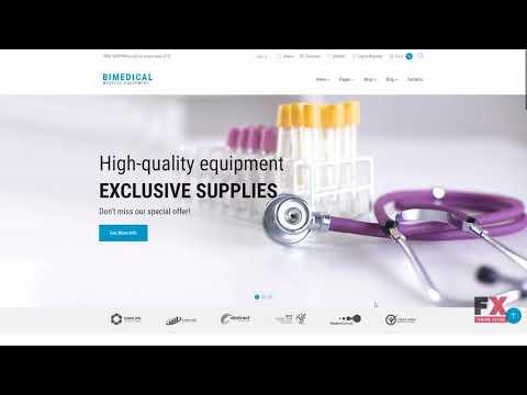 Bimedical- Medical Equipment Responsive WooCommerce Theme TMT | Free