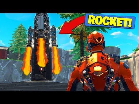 HOW TO *WATCH* ROCKET LAUNCH In Fortnite Battle Royale!