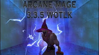 Arcane Mage PvP 3.3.5 WoW Movie/Аркан маг пвп 3.3.5