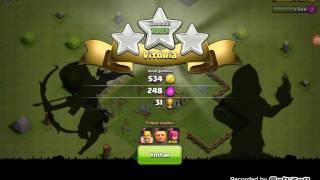 Clash of clans #2 upando o quartel e vila de guerra!!