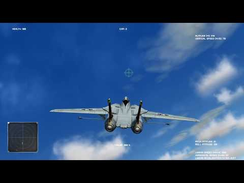 Dogfight/Air to Air Combat (Python