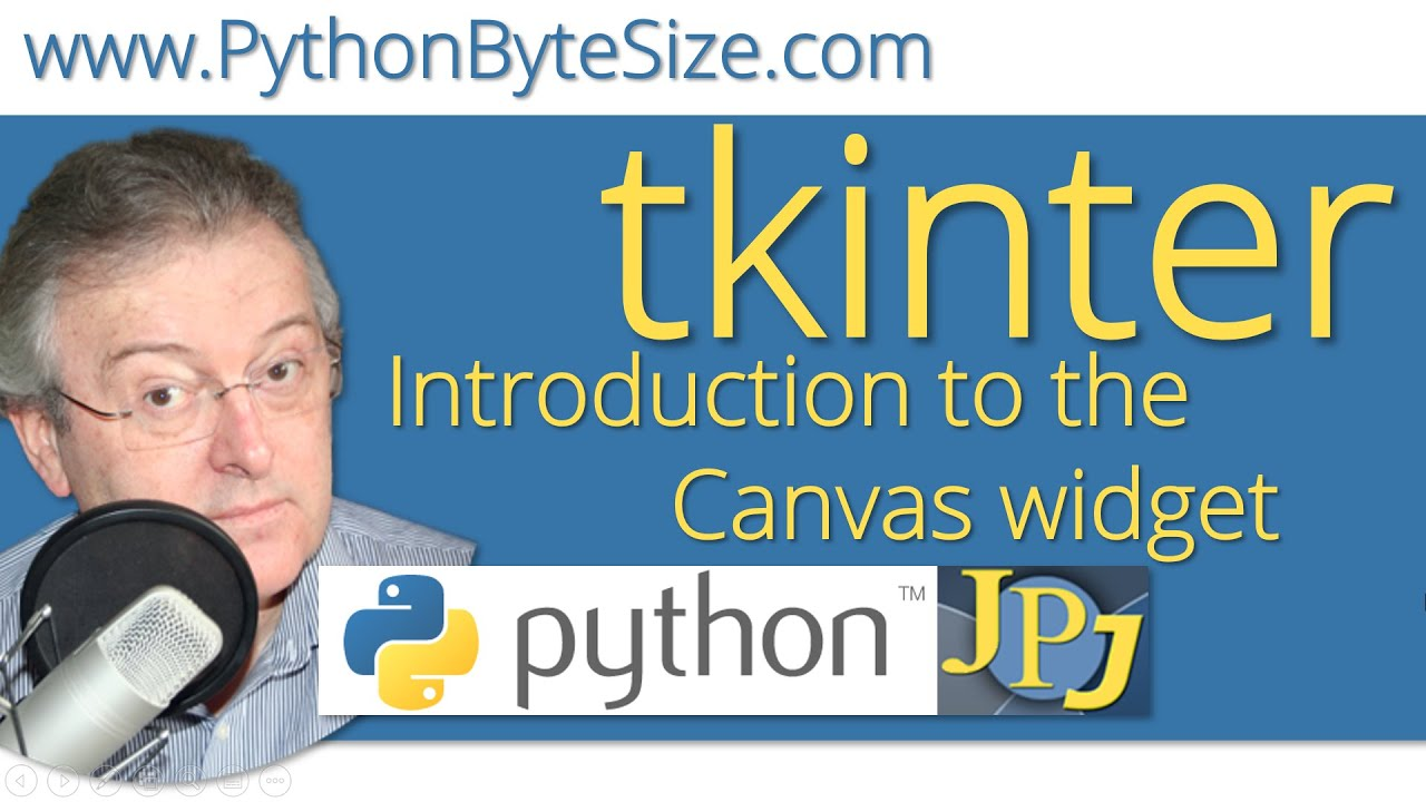 Introduction to the Python tkinter Canvas widget