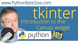 Introduction to the Python tkinter Canvas widget