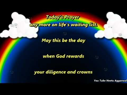 My Prayer For You Today Is........
