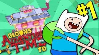 ZGADNIJCIE KTO WRÓCIŁ!? Bloons Adventure Time TD