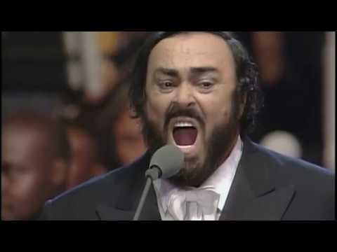 Luciano Pavarotti & Joan Osborne   Gesu Bambino   Módena 1996