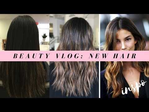 GETTING MY HAIR DONE SUNKISSED BALAYAGE | BEAUTY VLOG
