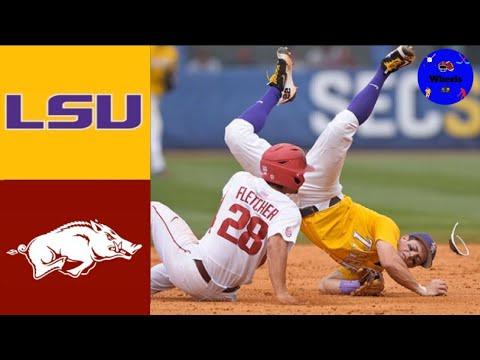 #2 LSU vs #4 Arkansas | 2017 SEC Baseball Championship | College Baseball Classics