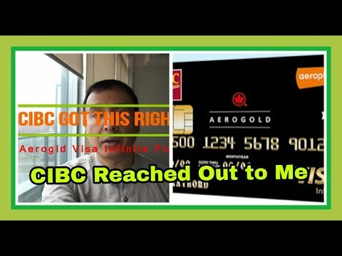 CIBC Got This Right (Follow-Up) | CIBC Aerogold Visa Infinite Credit Card