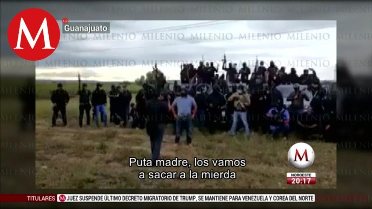 'El Marro' amenaza al CJNG de no entrar a Guanajuato