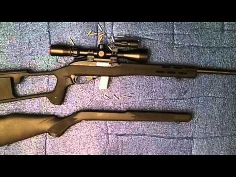 Marlin 795 Bsa Optics Dragunov Stock Stock Youtube