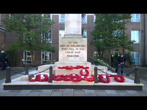 CRHnews - Remembrance Sunday Chelmsford November 13, 2016