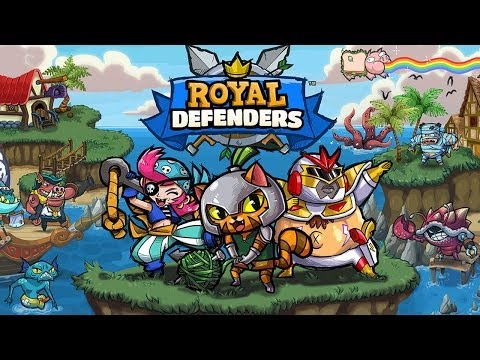 Royal Defenders - Universal - HD (iOS / Android) Gameplay Trailer