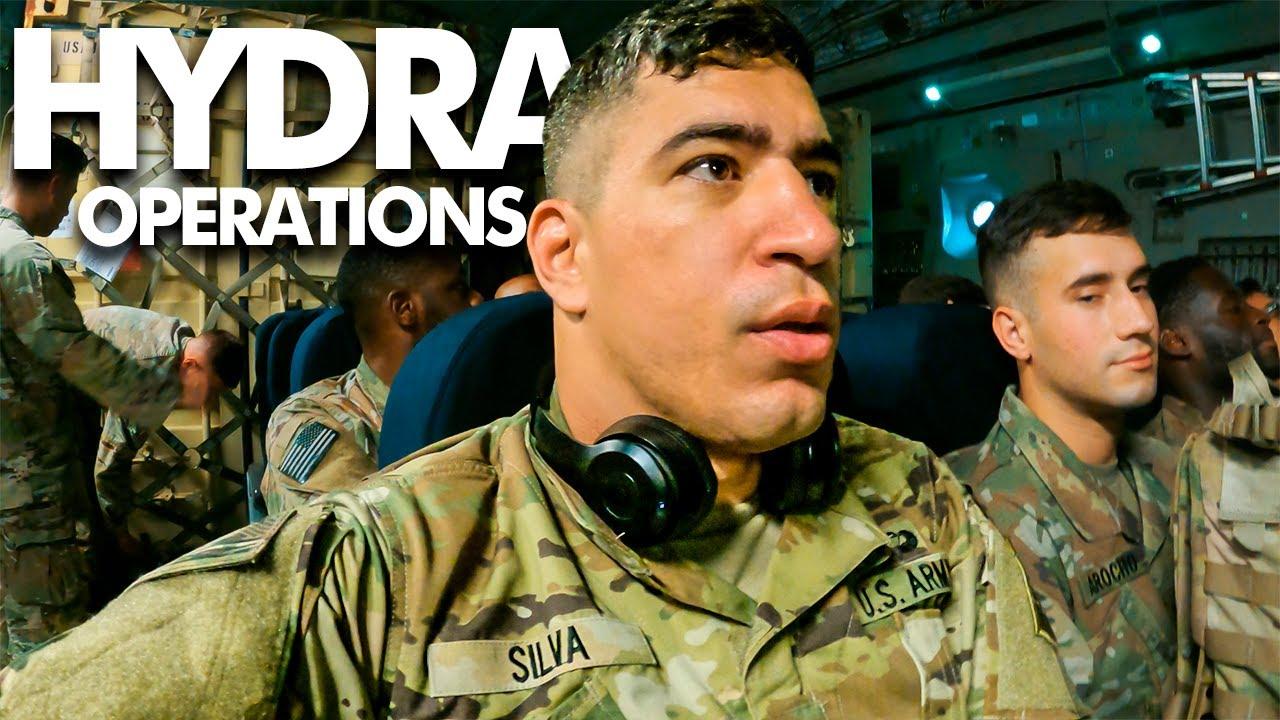 HYDRA OP - Missão Especial com Exército Aliado (Dia 1)