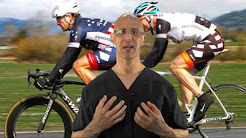 Neck Pain (Forward Head Posture) in Cyclists can be Prevented with Good Posture - Dr Mandell