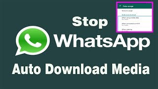 How to Stop WhatsApp Saving Photos & Videos Automatically On Mobile ?