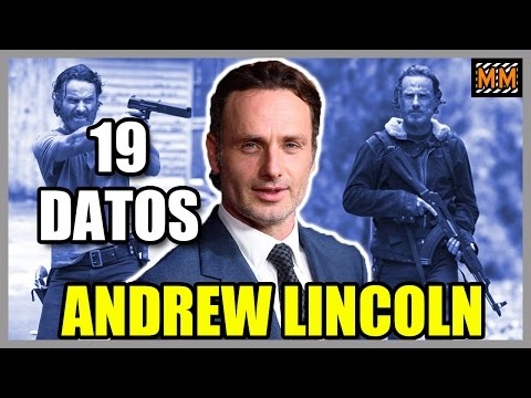"19 Curiosidades sobre ""ANDREW LINCOLN"" (Rick Grimes - The Walking Dead) - |Master Movies|"