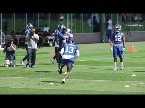 Giants' Odell Beckham minicamp Day 1 highlights