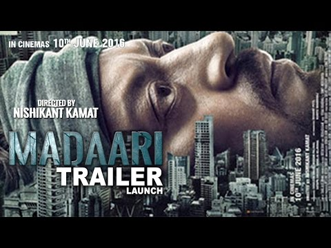 Madari Official Trailer 2016 | Irrfan...